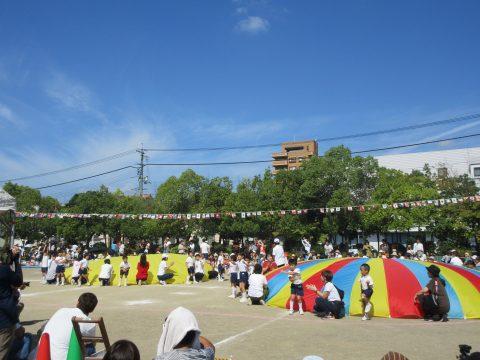 親子運動会を行いました